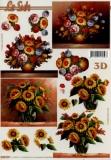 3D-Bogen Sonnenblumen von LeSuh (4169779)