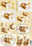 3D-Bogen Betende Mädchen von LeSuh (4169647)