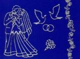 Sticker - Hochzeit - silber - 935