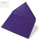 5 Umschläge C6 violett