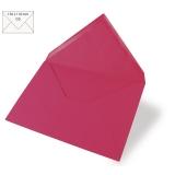 5 Umschläge C6 pink