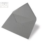 5x Umschläge C6 dunkelgrau (Rayher)